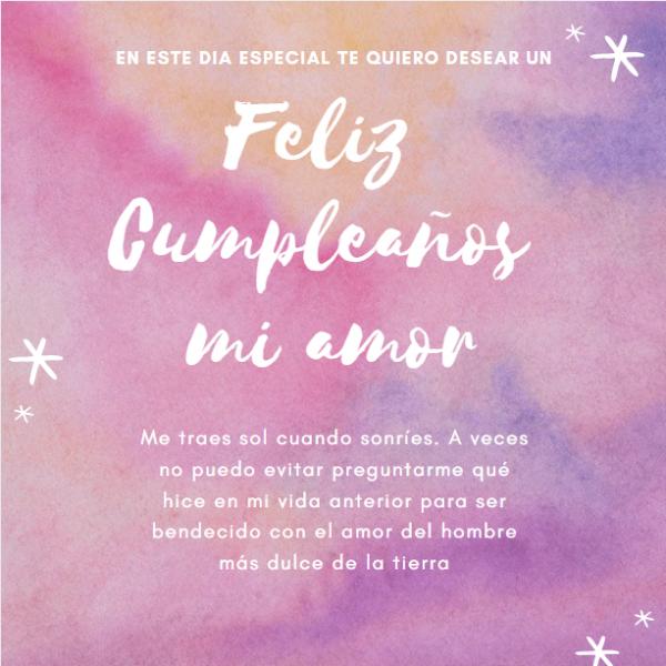 Felicitaciones De Cumpleanos Para Un Amor Frases Feliz Cumpleanos Envía felicitaciones con feliz cumpleaños gratis desde internet. frases feliz cumpleanos