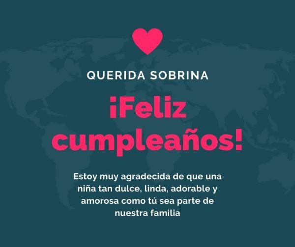 Feliz Cumpleaños Para Una Sobrina Frases Feliz Cumpleaños